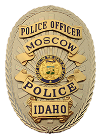 Moscow Police Officer Badge