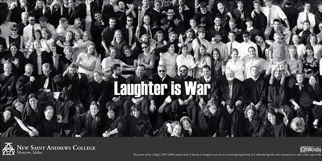 NSA: Laughter Is War